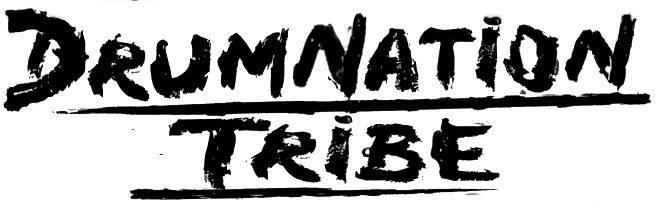 Drumnation tribe words for logo